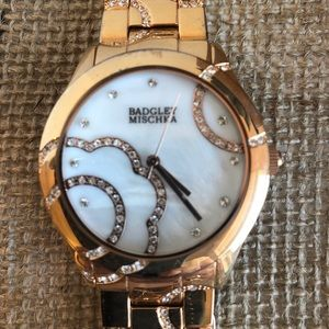 Badgley Mischea gold colored women's watch 🌺